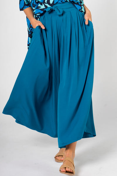 Flare Pant in Marine Teal