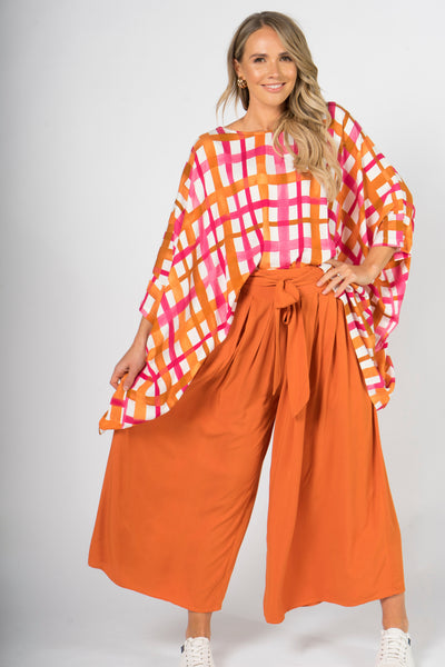 Flare Pant in Sunset