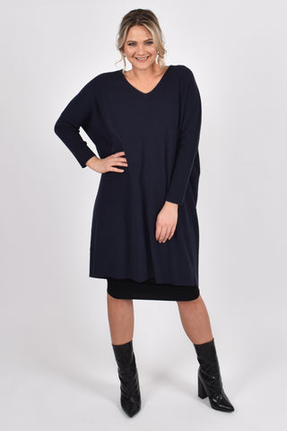 Lounge Tunic in French Navy