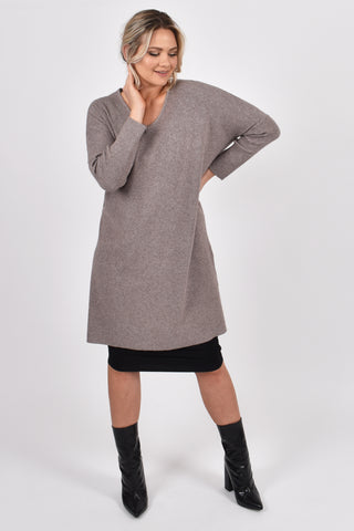 Lounge Tunic in Winter Sand