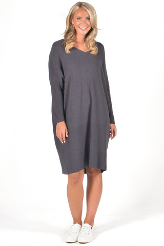 Lounge Tunic in Charcoal