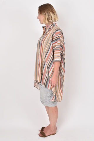 Miracle Shirt in Sandbar Stripe