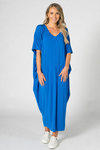 Maxi Miracle Dress in Deep Sea