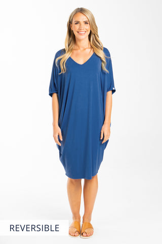 Miracle Dress in Sailor Blue
