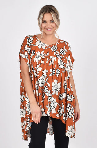 Opulent Top in Maple Wildflower