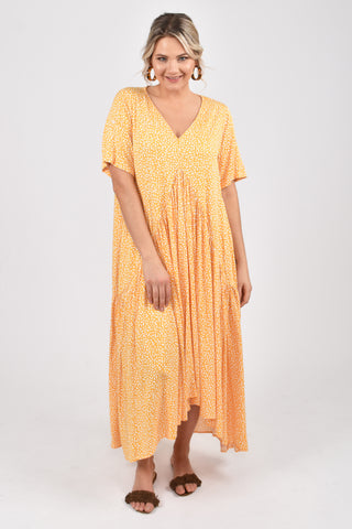 Peak Maxi Dress in Sunshine