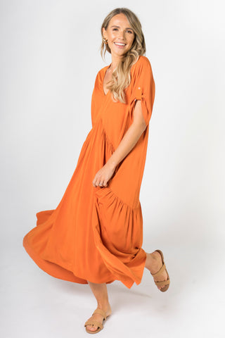 Peak Maxi Dress in Sunset