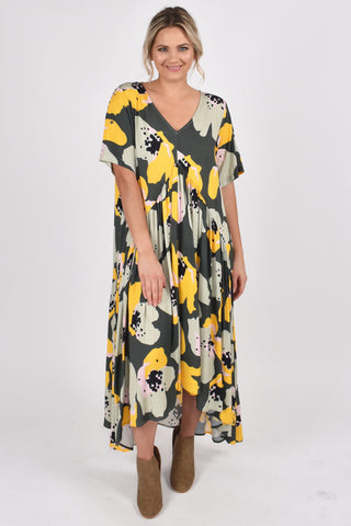 Peak Maxi Dress in Garden Bloom