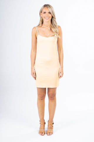 Slip Dress in Nude