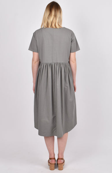 Wander Dress in Khaki Green