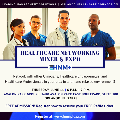 06/11/20 - Orlando Healthcare Networking Mixer & Expo
