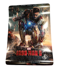 Iron Man 3 Advance Poster Signed by 11