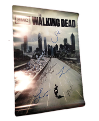 Walking Dead Rare Offiial 'CITY' Poster Signed by 10