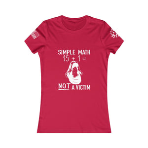 Simply NOT a Victim Tee