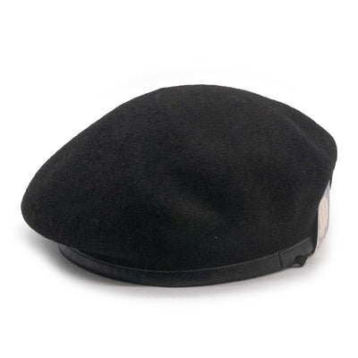 LEATHER BERET 63