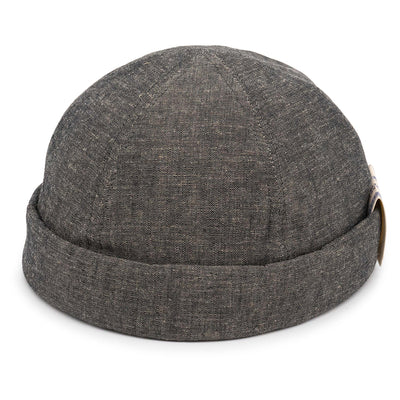 CHAMBRAY ROLL CAP