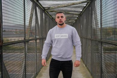 Grey BLOK Logo Jumper