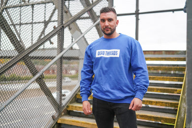 Royal Blue BLOK Logo Jumper