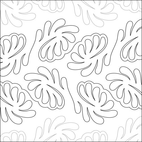 Our Swirls / Curls Patterns for Digital and Paper E2E