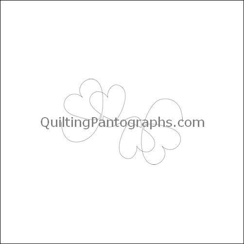 Abby's Joyful Heart - quilting pantograph