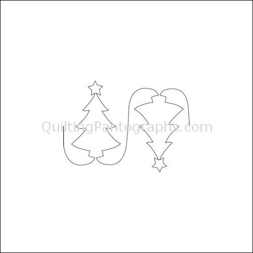 O' Christmas Tree - quilting pantograph