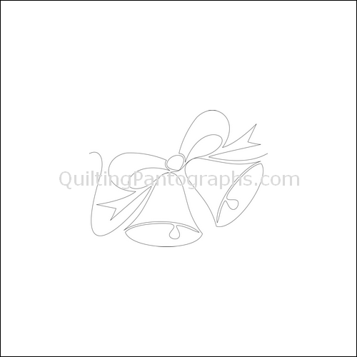 Wedding Bells - quilting pantograph