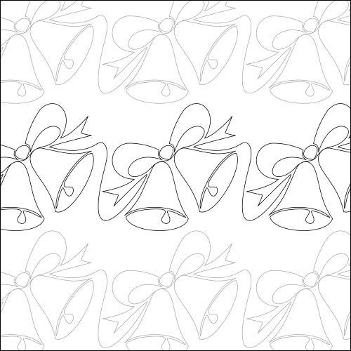Silver Bells - quilting pantograph