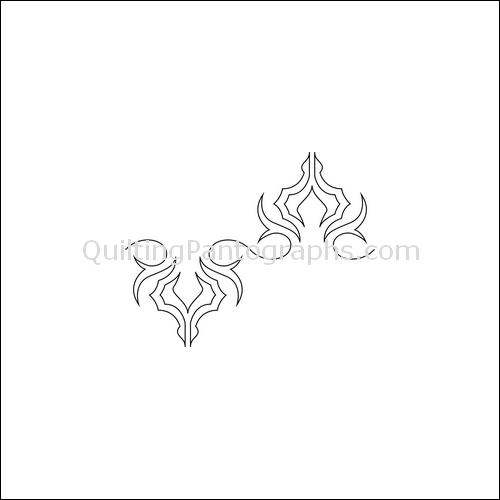 Spider Crawl - quilting pantograph