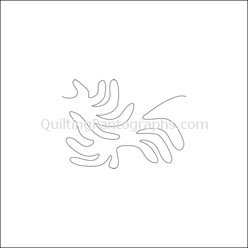 Funny Fingers - quilting pantograph
