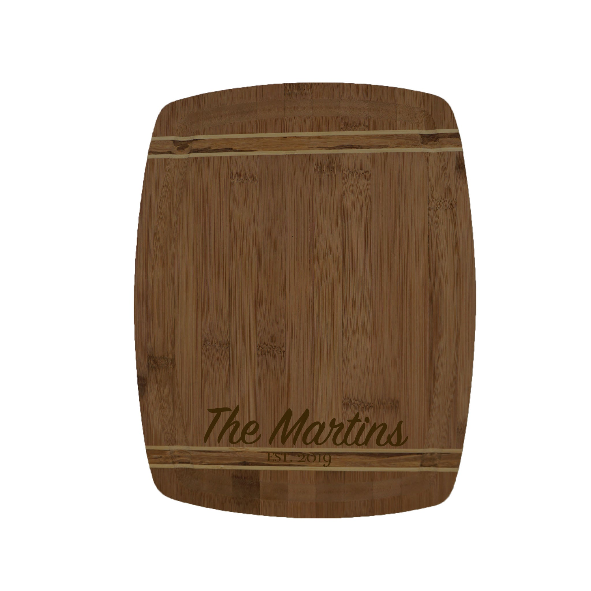 Bamboo Cutting Board #123