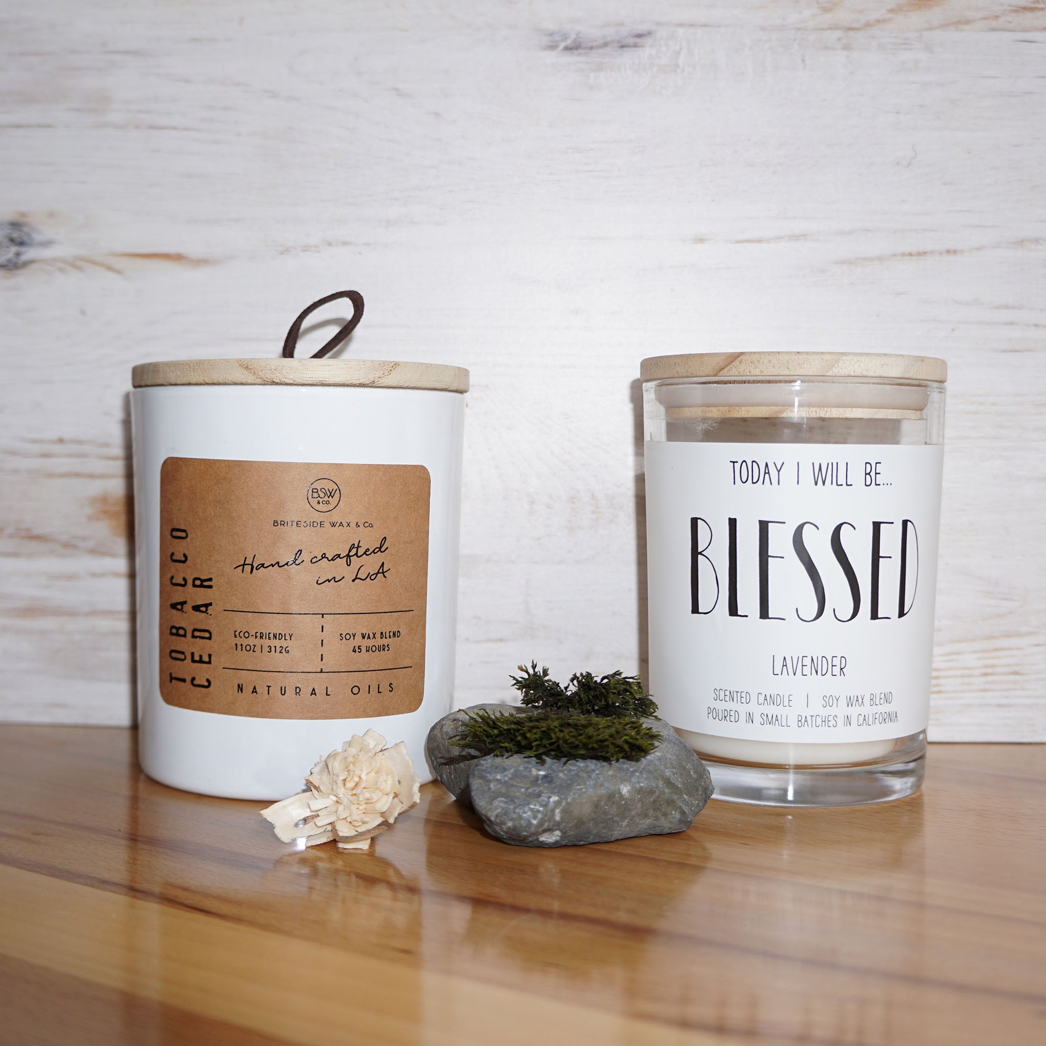 Holistic Soy Candle - 9 OZ. - Personalize
