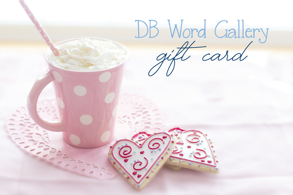 DB WORD GALLERY GIFT CARD
