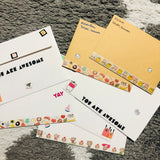 decorate envelopes _ stickers _ sticky rice sisters