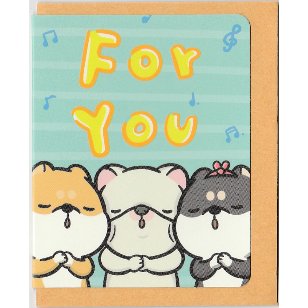 M1010 - Hi John! - For You *mini card