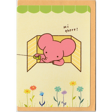 Load image into Gallery viewer, C1033 - Mandie - Hi There (Elephant) *standard card