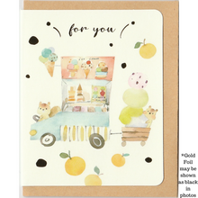 Load image into Gallery viewer, M1014 - Ice Cream For You (Gold Foil) *mini card