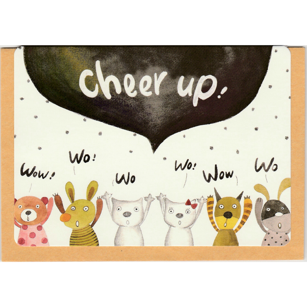 C1034 - Cheer Up Wo Wo *standard card