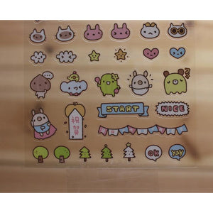 S1004 - Bread Tree - Planner Stickers