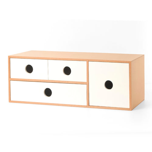 4 Drawer Storage Organizer (Wooden)