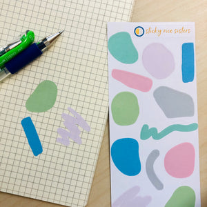 SRS1017 - Abstract Shapes Sticker Sheet