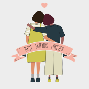 Happy Best Friends Day - Digital H