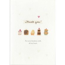 Load image into Gallery viewer, C1055 - Thank You Cakes *standard card