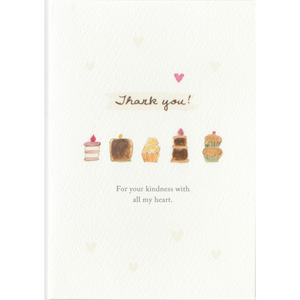 C1055 - Thank You Cakes *standard card