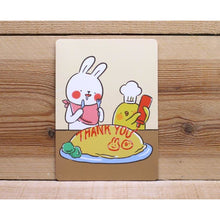Load image into Gallery viewer, C1059 -  Lazy Rabbit & Mr. Chu - Thank You *standard card