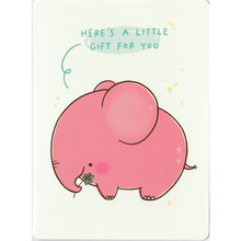 Load image into Gallery viewer, C1060 -  Mandie - Cheering Elephant *standard card