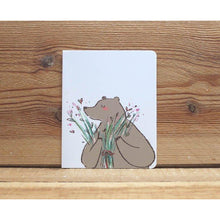 Load image into Gallery viewer, M1021 - Whoosh Bear -  Free Hugs *mini card