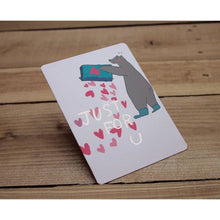 Load image into Gallery viewer, C1030 - Whoosh Bear - Just For You *standard card