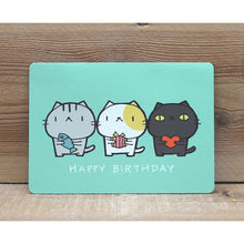 Load image into Gallery viewer, C1043 - Cat Cat - Happy Birthday *standard card