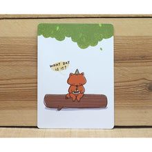 Load image into Gallery viewer, C1048 - Mandie - Birthday (Fox) *standard card