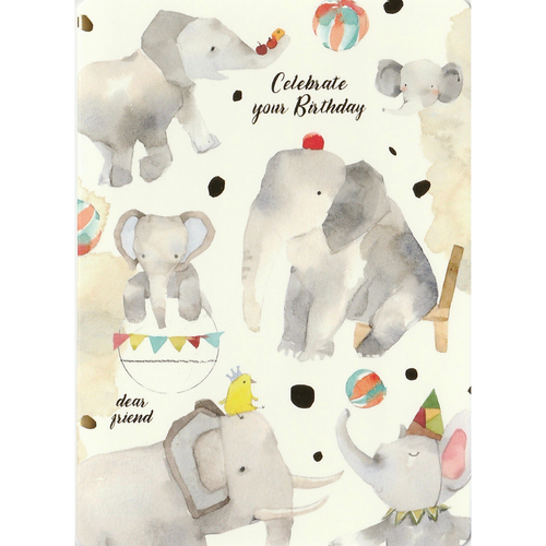 C1052 - Liang Feng - Watercolor Elephant *standard card